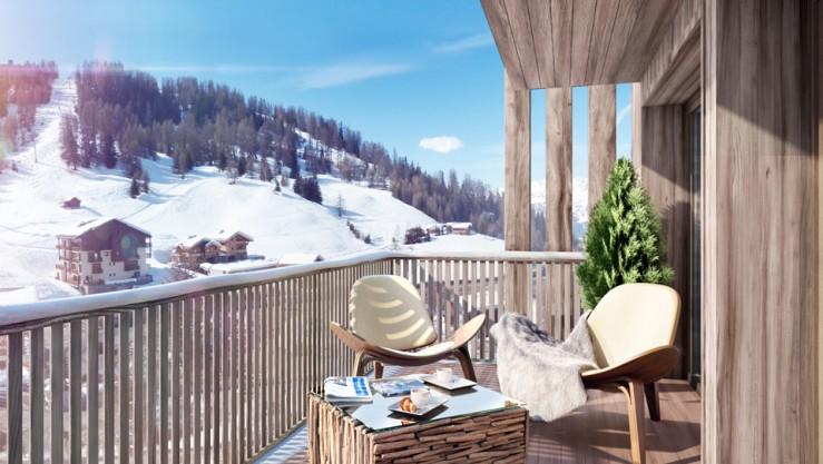 Apartmán v Alpách