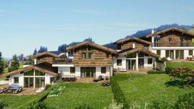 Nové chalety v blízkosti několika lyžařských areálů