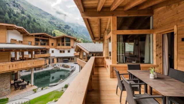 Pitztal – Luxusní řadový chalet u nejvyššího ledovce v Rakousku