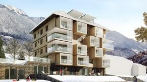 Apartmán ve Schladmingu s výhledem na sjezdovku Planai