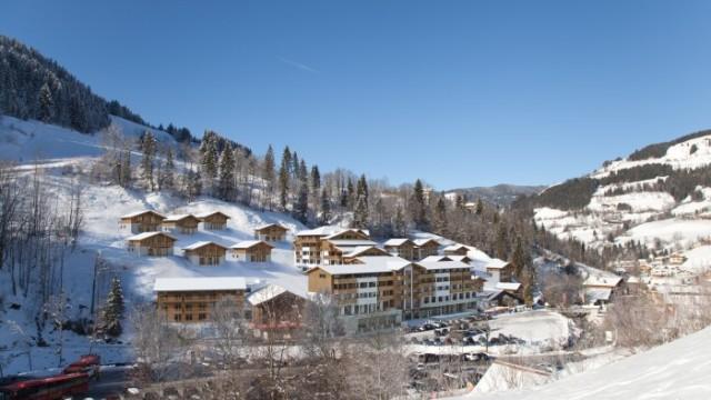 Wagrain: Ski in/ski out chalety a apartmány přímo u sjezdovky
