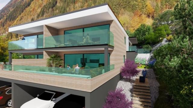 Nová rezidence u jezera Ossiacher See a ski resortu Gerlitzen