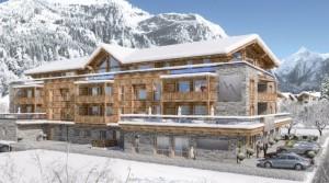 Nový projekt apartmánů v oblíbeném lyžařském středisku Kaprun