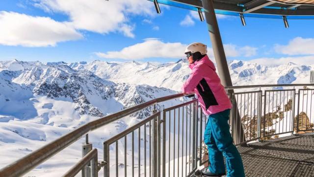 Obergurgl – diamant rakouských Alp