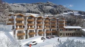 Rezidenční komplex s napojením na lyžařská střediska Wagrain a Flachau