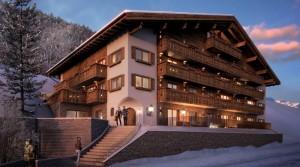 Luxusní resort apartmánů ve Ski Arlberg
