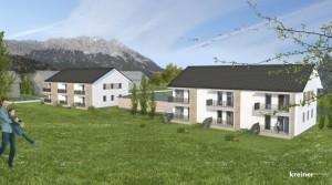 Výstavba nových apartmánů v blízkosti Schladmingu
