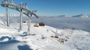 Nové lanovky v lyžařské oblasti Flachau, Wagrain, St. Johann