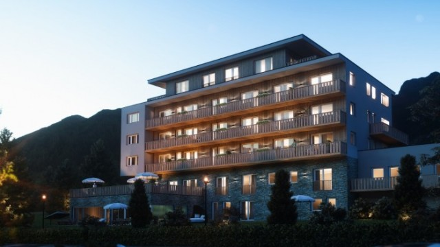Zugspitz Arena: Wellness apartmány u golfu a lanovek