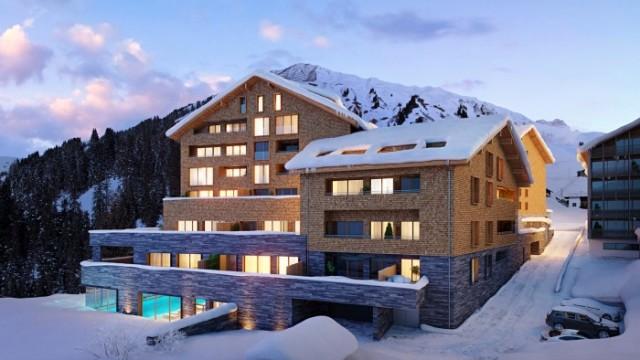 Ski Arlberg: Luxusní apartmány v 1495 m. n. m.