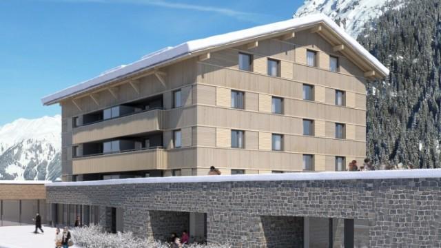 Ski in / Ski out apartmány v nadmořské výšce 1500 m. n. m.