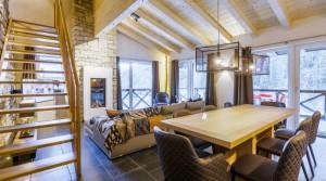 SKICIRCUS: Luxusní apartmány v moderním alpském stylu
