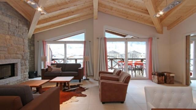 Luxusní podkrovní apartmán se 4 ložnicemi u ledovce