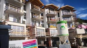 Výstavba projektu ve Ski Amadé jde do finiše. Projekt je kompletně vyprodaný